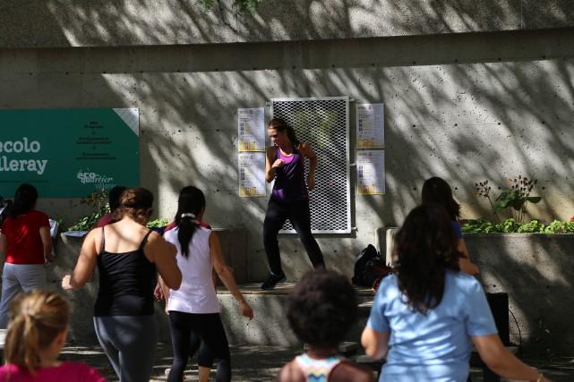Des classes de zumba sont offertes au Patro... (Photo fournie par le Patro Le Prévost)