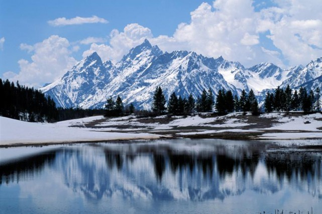 Le parc national Grand Teton, dans le Wyoming.... (PHOTO THINKSTOCK)