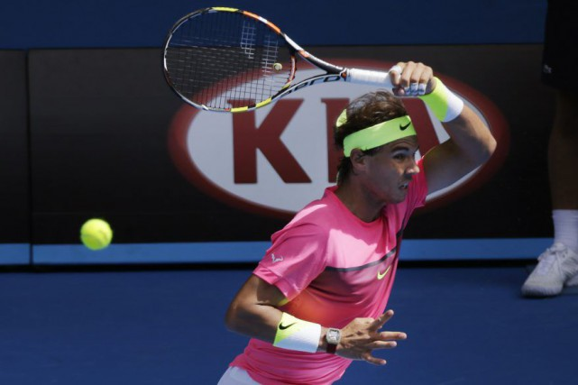 Rafael Nadal... (Photo Bernat Armangue, AP)
