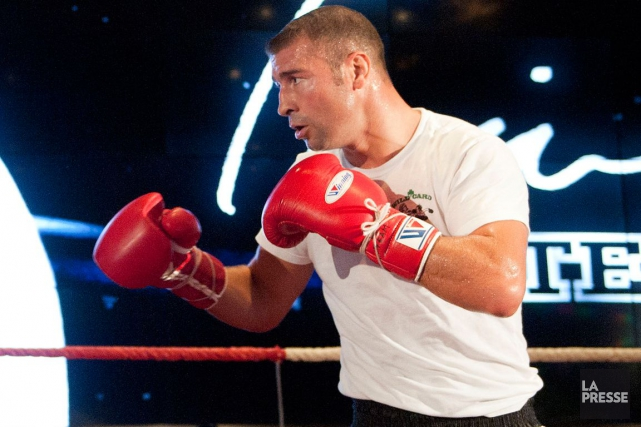 Lucian Bute... (Photo Catherine Lefebvre, archives La Presse)