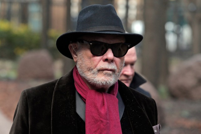 Gary Glitter... (PHOTO LEFTERIS PITARAKIS, AP)