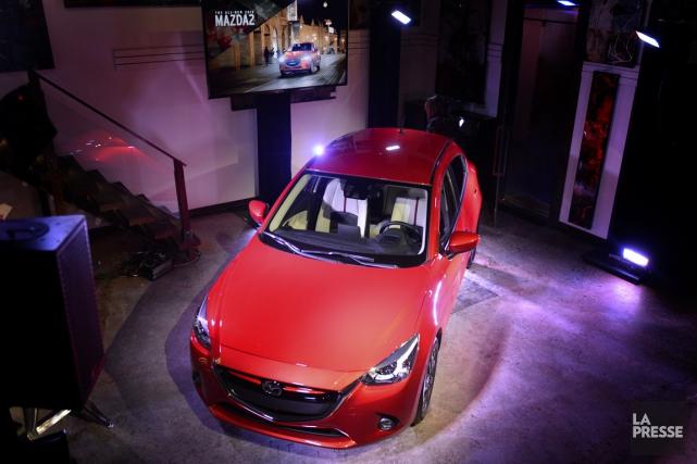 Mazda croit bouleverser le marché des sous-compactes avec... (PHOTO BERNARD BRAULT, LA PRESSE)
