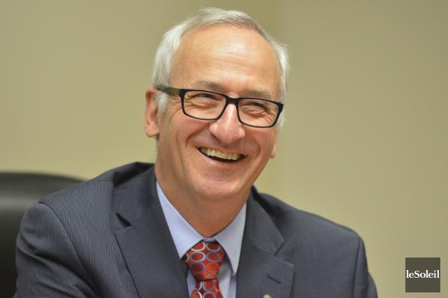 Pierre Payeur, conseiller principal en gestion du patrimoine... (Le Soleil, Yan Doublet)