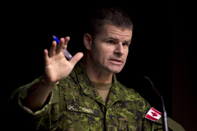Le commandant des Forces d'opérations spéciales du Canada... (Photo archives La Presse Canadienne)