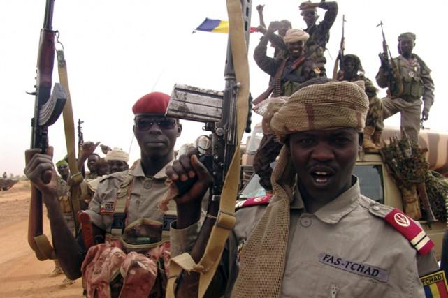 Très offensif, le président tchadien a clairement affiché... (Photo: Reuters)