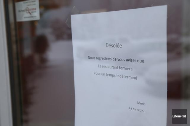Le maire de la municipalité, René Beauregard, n'approuve... (photo Janick Marois, archives La Voix de l'Est)