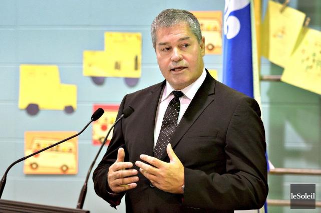 Le ministre de l'Éducation Yves Bolduc... (PHOTO PATRICE LAROCHE, ARCHIVES LE SOLEIL)