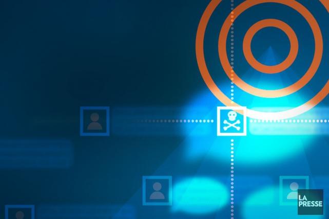 L'efficacité avec laquelle les terroristes recrutent sur l'internet a créé une... (ILLUSTRATION LA PRESSE)