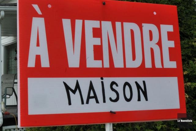 Le marché immobilier résidentiel de la région métropolitaine... (Photo: Stéphane Lessard, Le Nouvelliste)