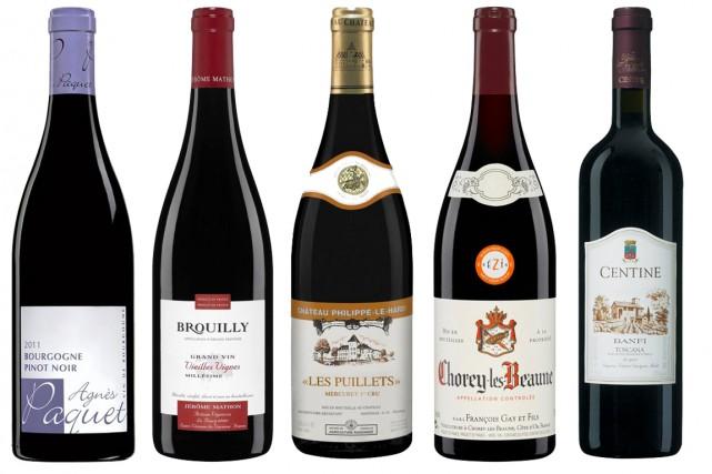 Est-ce à cause des changements climatiques? Toujours est-il que la Bourgogne... (Photos fournies par la SAQ)