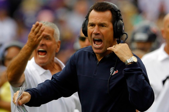 Gary Kubiak a été l'entraîneur-chef des Texans de... (Photo Richard Clement, archives Reuters)