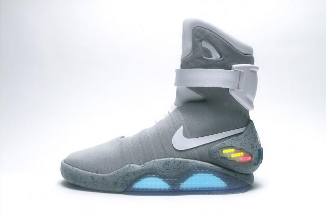 Les Nike MAG lancés en 2011.... (Photo fournie par Nike)