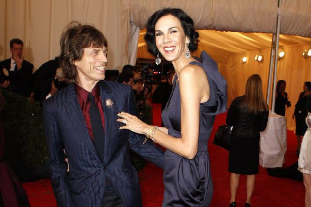 Mick Jagger et L'Wren Scott, en mai 2012.... (PHOTO LUCAS JACKSON, ARCHIVES REUTERS)