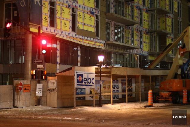 La nouvelle épicerie occupera la majeure partie du... (Patrick Woodbury, LeDroit)