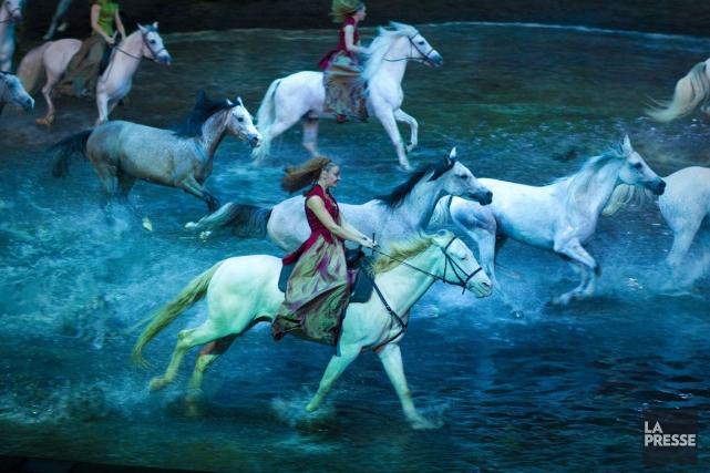 Le spectacle équestre de Cavalia,Odysseo.... (PHOTO ANDRÉ PICHETTE, ARCHIVES LA PRESSE)