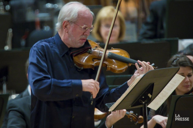 Le violoniste Gidon Kremer... (Photo André Pichette, Archives La Presse)
