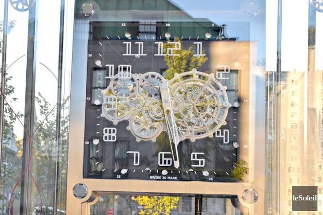 Début octobre, les spécialistes de l'École d'horlogerie de... (Photothèque Le Soleil, Pascal Ratthé)