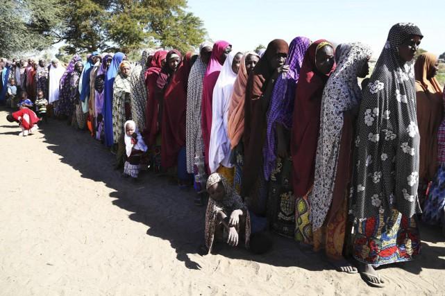 Des femmes qui ont fui les violences au... (PHOTO EMMANUEL BRAUN, ARCHIVES REUTERS)