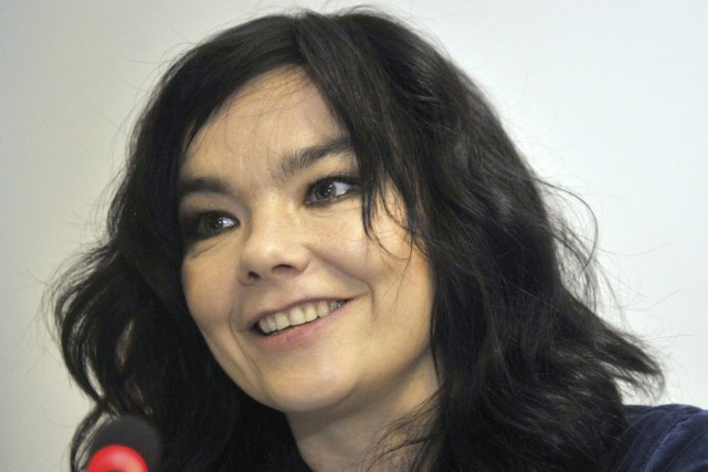 Björk, qui aura 50 ans en novembre prochain,... (PHOTO DOMINIQUE FAGET, ARCHIVES AFP)