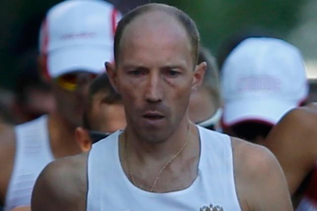 Le marcheur russe Sergei Kirdyapkin a remporté la... (Photo Laszlo Balogh, archives Reuters)