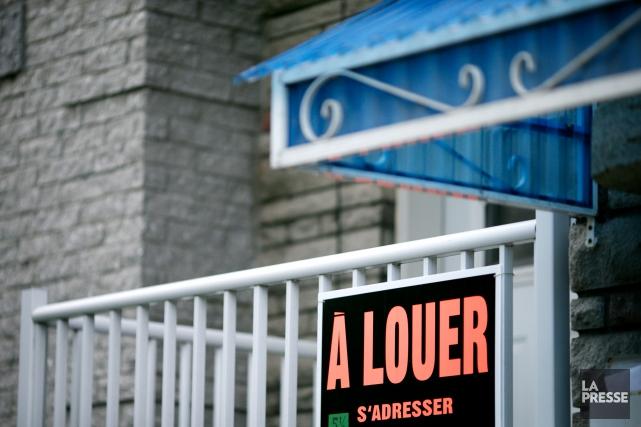 Depuis 2000, au Québec, les loyers auraient augmenté... (PHOTO SARAH MONGEAU-BIRKETT, LA PRESSE)