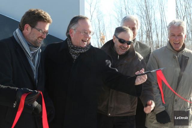 Le maire de Gatineau, Maxime Pedneaud-Jobin, se dit «ouvert» à diverses formes... (Patrick Woodbury, LeDroit)