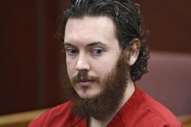 James Holmes, 27 ans, est en détention depuis... (PHOTO ANDY CROSS, ARCHIVES REUTERS)
