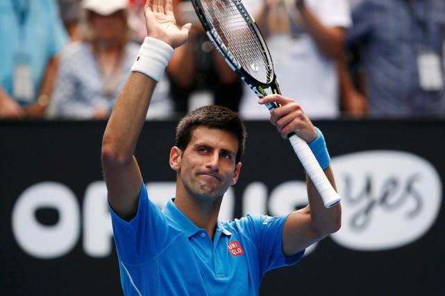 Le numéro 1 mondial Novak Djokovic adisposé du... (Photo Athit Perawongmetha, Reuters)