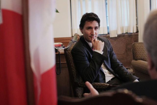 Sous Justin Trudeau, les libéraux ont recommencé à... (Photo Cole Burston, Bloomberg)