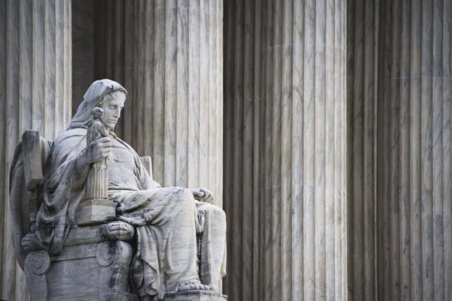 La plus haute juridiction des États-Unis s'est rangée... (PHOTO JIM WATSON, AFP)
