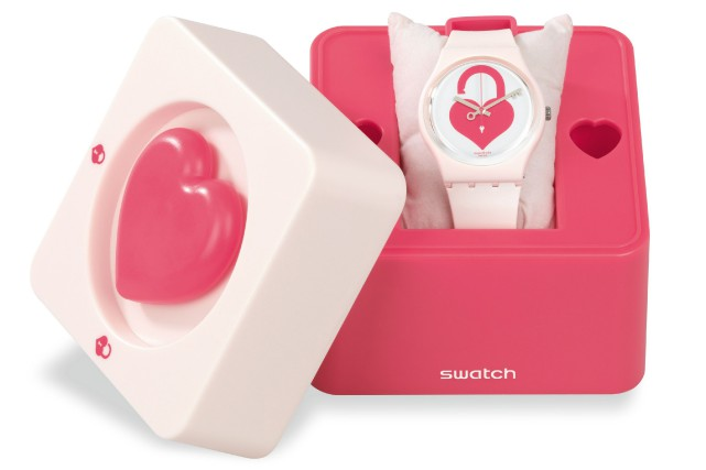 La montre Unlock My Heart édition limitée, Swatch,... (Photo fournie par Swatch)