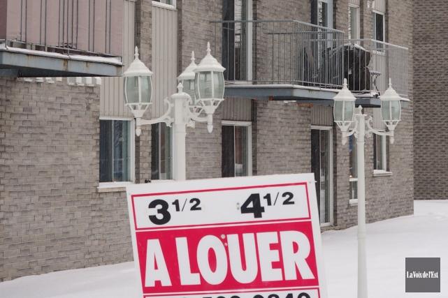 Le Regroupement des comités logement et associations de locataires du Québec... (Archives La Voix de l'Est)