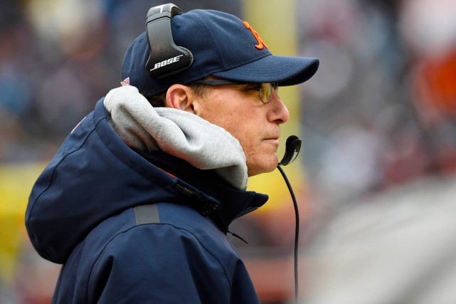 Marc Trestman... (Photo Mike DiNovo, USA Today Sports)