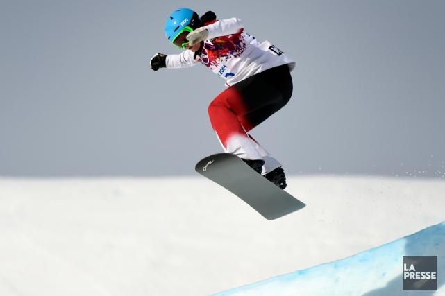 Maëlle Ricker en action aux Jeux olympiques de... (Photo Bernard Brault, archives La Presse)