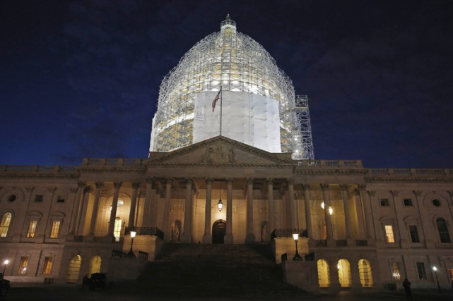 Le Sénat et la Chambre des représentants des États-Unis ont adopté à... (Photo: Reuters)