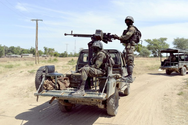 Le Cameroun a envoyé des contingents militaires pour... (Photo: AFP)