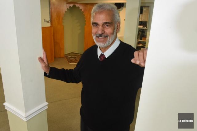Marwan Shedid, président du Centre culturel islamique de... (Photo: François Gervais Le Nouvelliste)
