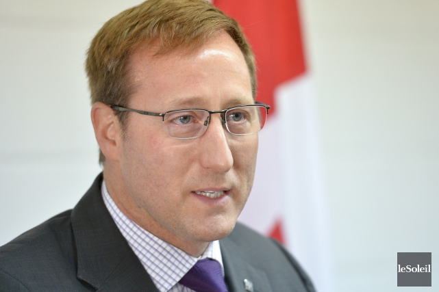 Le ministre fédéral de la Justice, Peter MacKay,... (Photothèque Le Soleil, Yan Doublet)