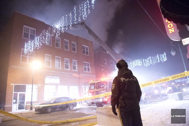 Le Service de police de Sherbrooke a ouvert une enquête criminelle à la suite... (Imacom, Julien Chamberland)