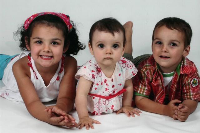 Anaïs, Lorélie et Loïc, les enfants de Sonia... (Archives)