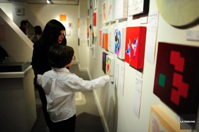 La Maison des arts de Drummondville accueillera l'exposition... (La Tribune, Yanick Poisson)