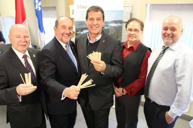 Industries John Lewis et Transfobec Mauricie pourront prendre... (Photo: Audrey Tremblay)
