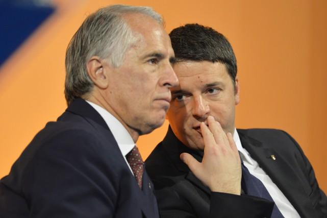 Le président du Comité olympique italien (CONI),Giovanni Malago,... (Photo Andreas Solaro, AFP)