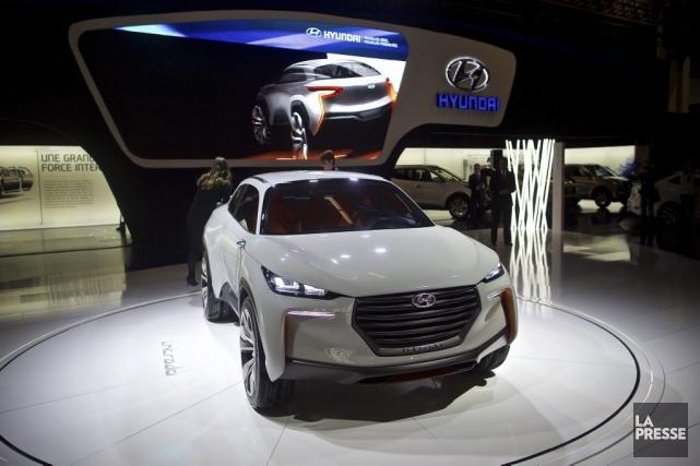 Le Hyundai Intrado... (Photo André Pichette, La Presse)