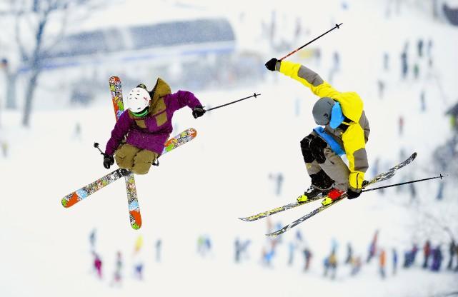N'est pas habile skieur qui veut.... (ARCHIVES LA NOUVELLE)