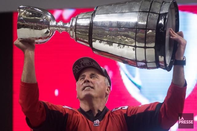 À sa septième saison comme entraîneur-chef et directeur... (Photo Darryl Dyck, PC)