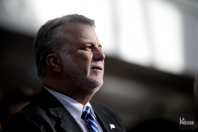 Le premier ministre du Quebec, Philippe Couillard... (PHOTO DAVID BOILY, ARCHIVES LA PRESSE)
