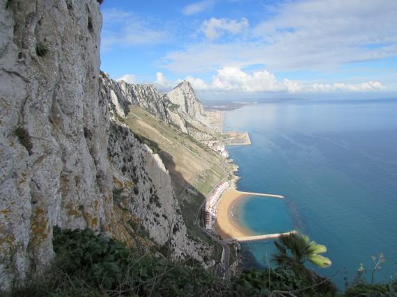 La principale attraction de Gibraltar : son rocher,... (La Nouvelle, Jonathan Custeau)