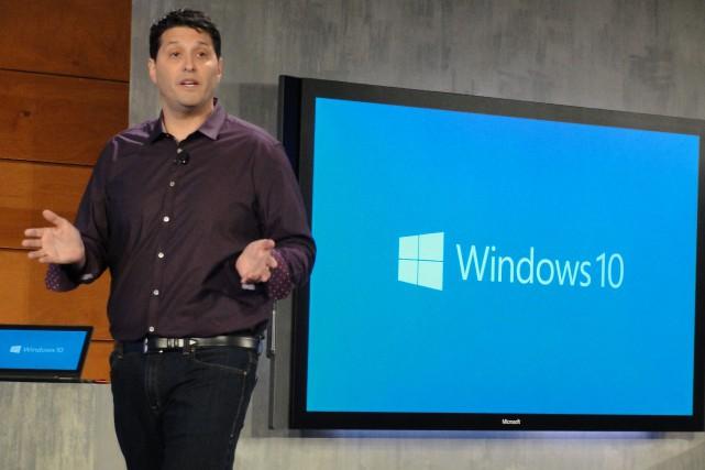 Le chef des opérations des systèmes de Microsoft,... (PHOTO GLENN CHAPMAN, AFP)