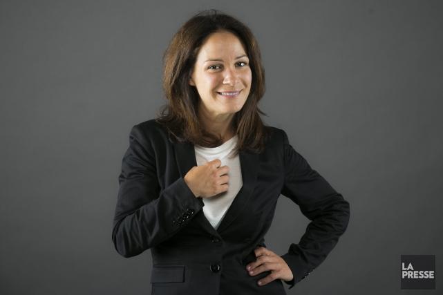 Sandrine Bisson est la porte-parole de Regard, autre... (Photo: Olivier Pontbriand, archives La Presse)
